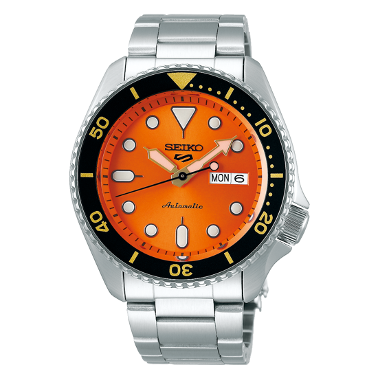 Picture of Seiko 5 Sport Automatic Orange Dial Watch