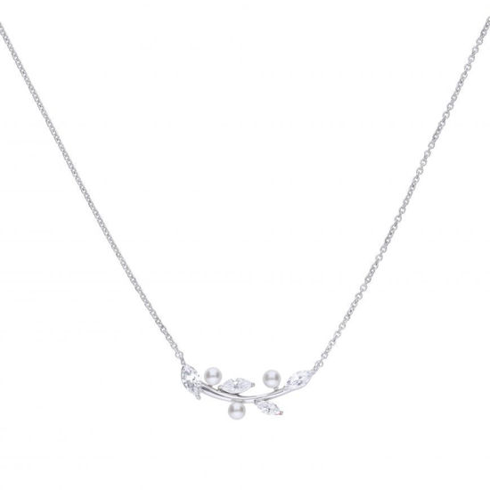 Picture of Pearl And Marquise Diamonfire Zirconia Necklace