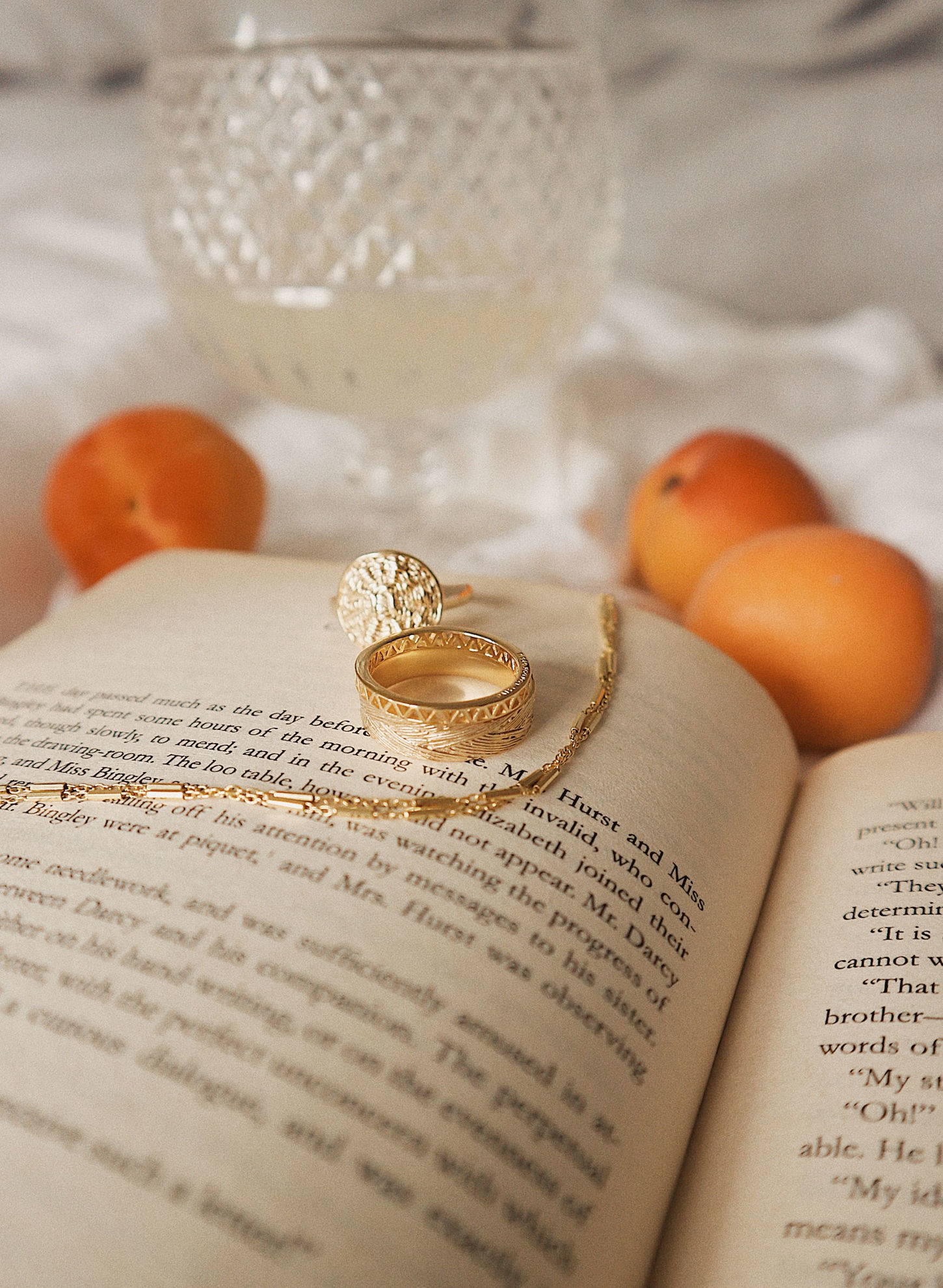 Picture of Artisan Woven Stacking Ring 18ct Gold Plate