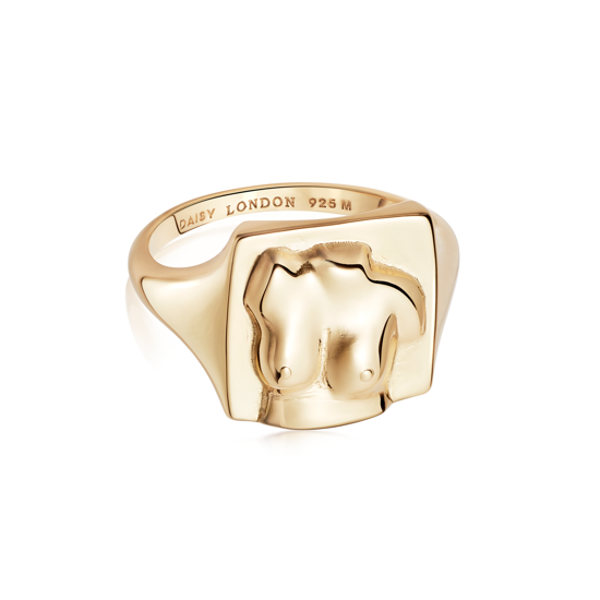 Picture of Vita Maia Ring 18Ct Gold Plate